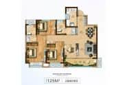 125M²-3室2厅2卫-125.0㎡