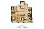 100M²-3室2厅1卫-100.0㎡